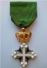 Onoreficenza cavalleresca dell'Ordine dei SS Maurizio e Lazzaro