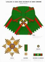 Le insegne dell'Ordine al Merito della Repubblica Italiana