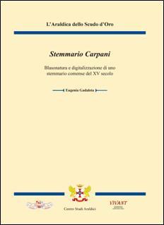 """La copertina di """"Stemmario Carpani"""" di Eugenia Gadaleta"""