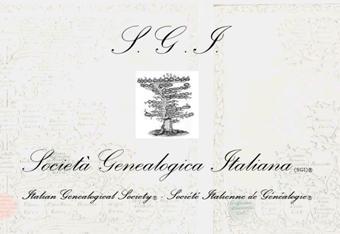 Home Page della Società Genealogica Italiana