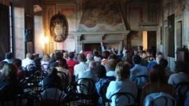 Foto d'archivio di una conferenza