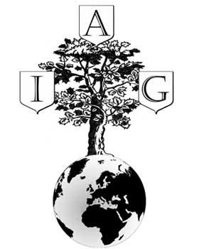 Il logo dell'Académie internationale de généalogie