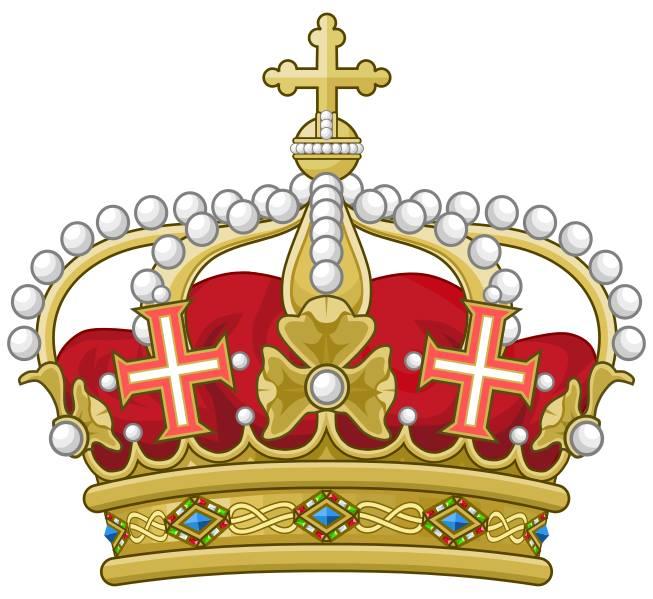 La corona utilizzata dall'Unione Nobiliare Italiana come emblema
