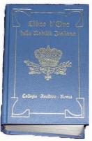 """Un volume del """"Libro d'Oro"""" edito dal Collegio Araldico di Roma"""
