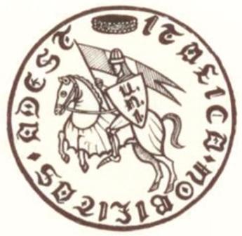 L'emblema dell'Unione della Nobiltà d'Italia fondata nel 1986