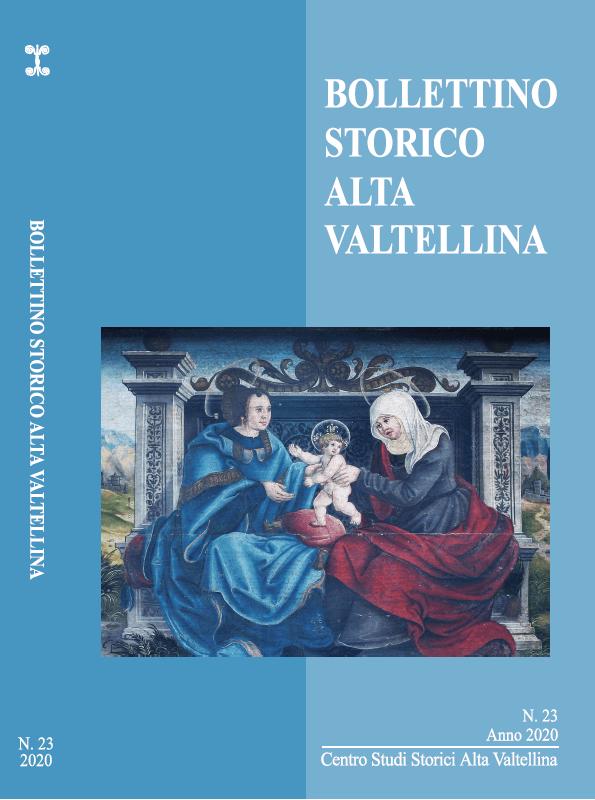 Bollettino Storico Alta Valtellina