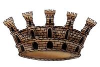 Corona di città