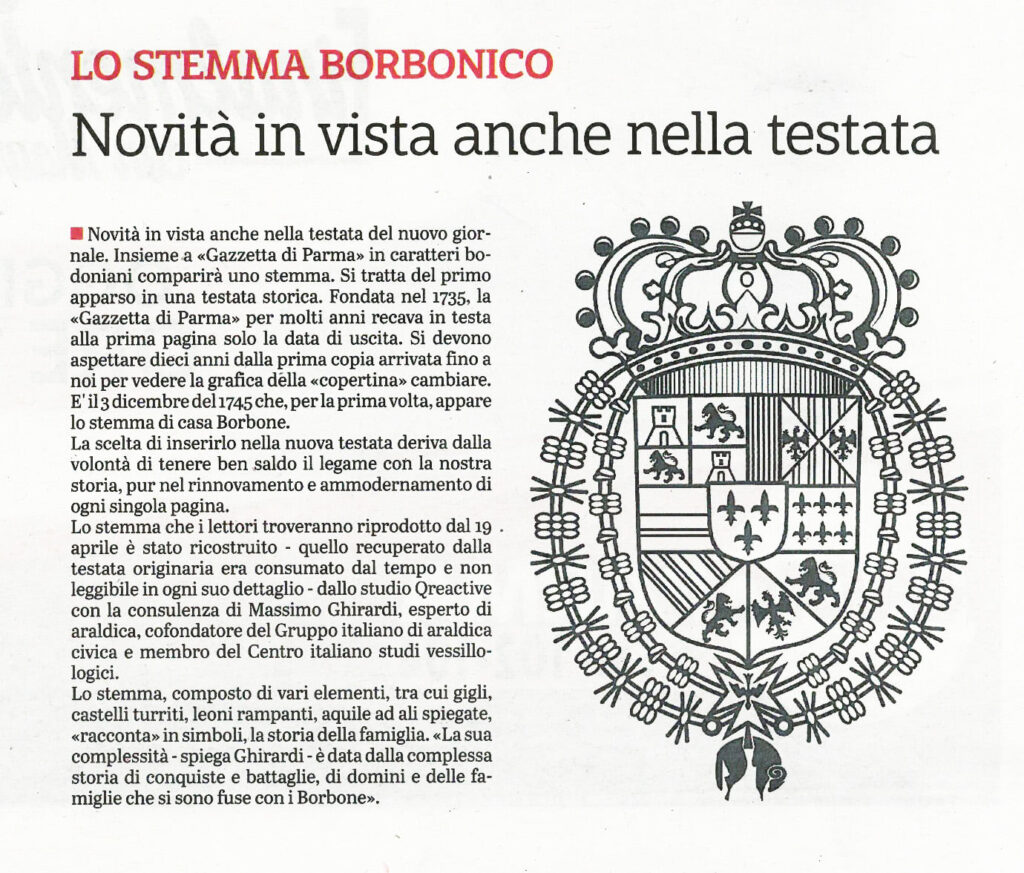Stemma della Gazzetta di Parma
